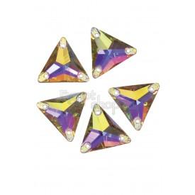 Пришивной треугольник АВ стекло 15мм высший сорт (1 шт.)